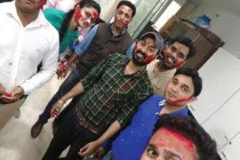 Holi celebration @ zuche